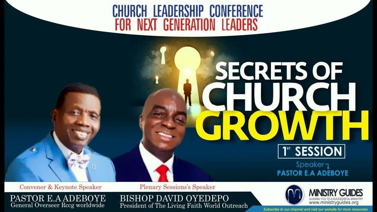 The Secrets of Church Growth Part 1 | Pastor EA Adeboye | MINISTRY GUIDE