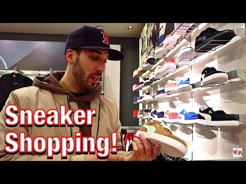 Sneaker Shopping In Boston! At The Puma Store!