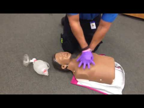 cpr demonstration Learning cpr could help you save a life, and as part of cpr awareness week, shannon bosley, cpr instructor & american heart association volunteer, shows us the proper way to perform cpr.