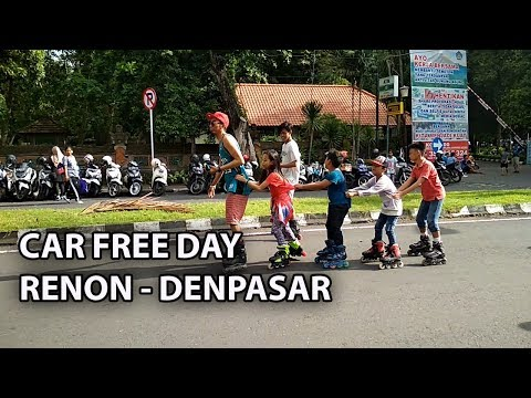 CAR FREE DAY RENON DENPASAR