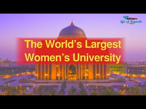 World's Largest University for Women - It's in Riyadh | Princess Nourah University (PNU)