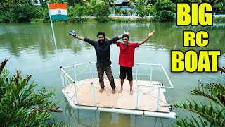 BIGGEST RC BOAT IN THE WORLD | M4 TECH |