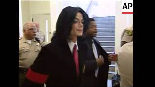 Michael Jackson indicted, pleads not guilty
