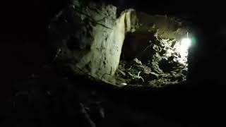 Появилось видео вырытого сбежавшими заключенными подкопа