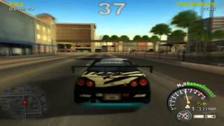 Street Racing Syndicate PC Gameplay   Skyline GT R V Spec II Nur   Checkpoints Race Easy HD