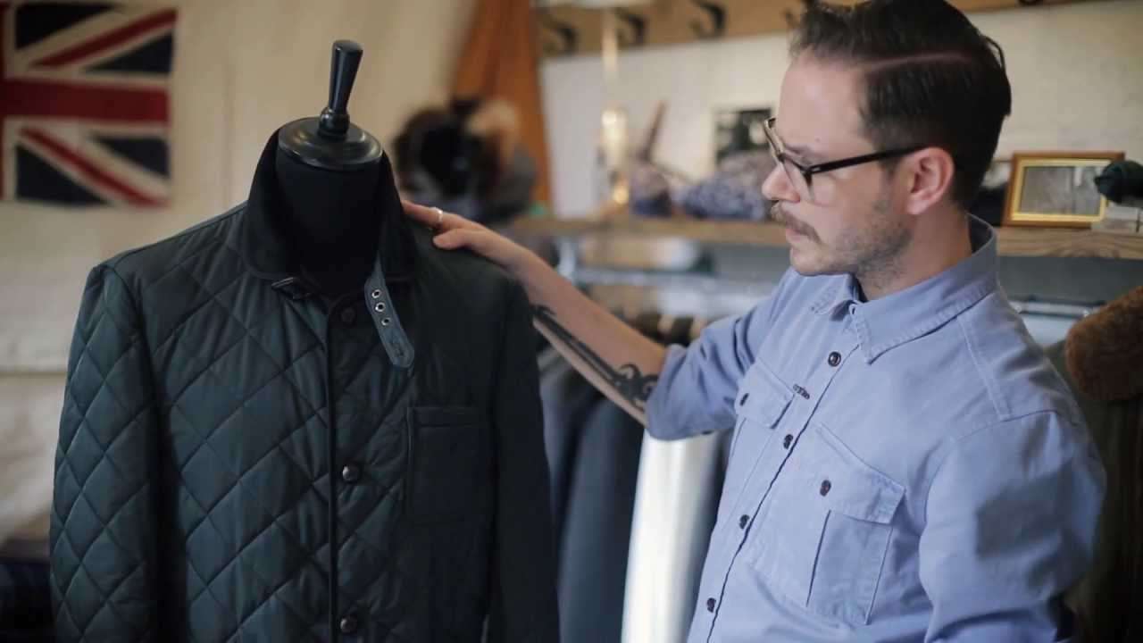 Farrell Racing Green Quilted Barn Jacket Autumn Winter 13 Youtube