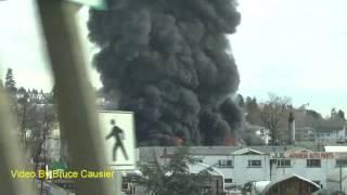 Fire On Mitchell Island