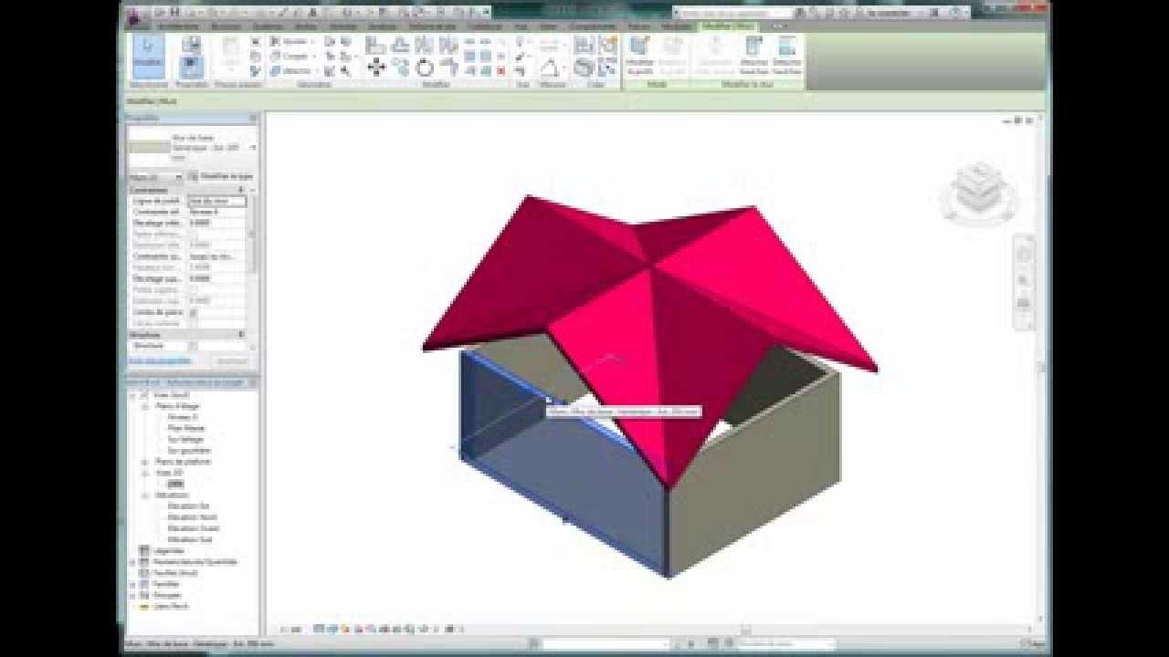 cr ez un toit 8 pans sur 4 pignons youtube. Black Bedroom Furniture Sets. Home Design Ideas