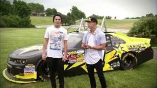 austin mahone live 9 14 at nascar chicagoland speedway