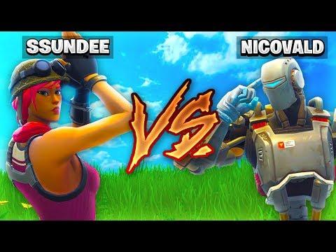 SSundee VS NICO *1V1* CHALLENGE in Fortnite Battle Royale