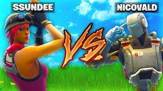 SSundee VS NICO 1V1 CHALLENGE in Fortnite Battle Royale