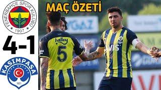 Fenerbahçe 4 - 1 Kasımpaşa | Maç Özeti | 19.07.202
