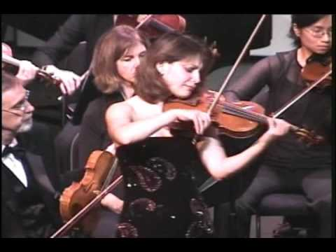 Irina Muresanu plays Prokofiev Violin Concerto No. 2, Op. 63: II. Andante assai