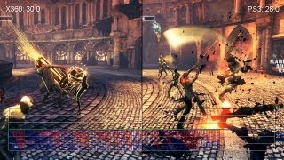 DmC Xbox 360 vs  PS3 Gameplay Frame Rate Tests