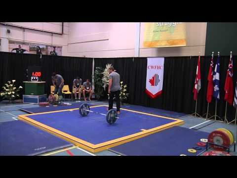 2013 Canadian Senior Weightlifting Championships: Womens