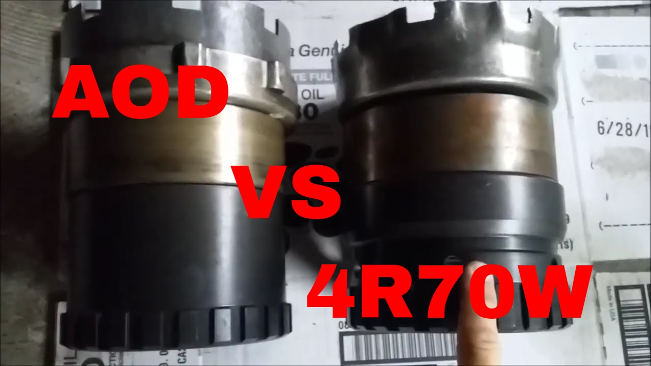 2017 Ford Bronco >> Ford Automatic Transmission AOD 4R70W planet gear set 4R75W planetary gear difference - YouTube