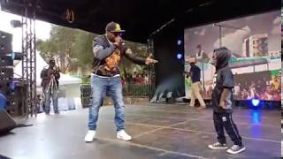 KHALIGRAPH JONES VS JUALA SUPERBOY-PART 2 freestyle rap battle