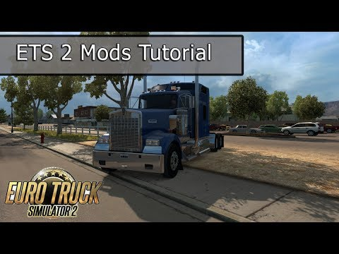 ETS2 Mod Tutorial - Jazzycat, Promods and Steam Workshop (Updated 2017)