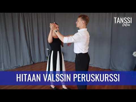 Video: Paritanssi / Hitaan valssin peruskurssi