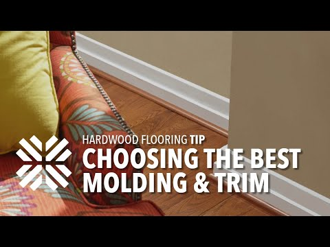 Selecting the Right Flooring Moldings & Trim