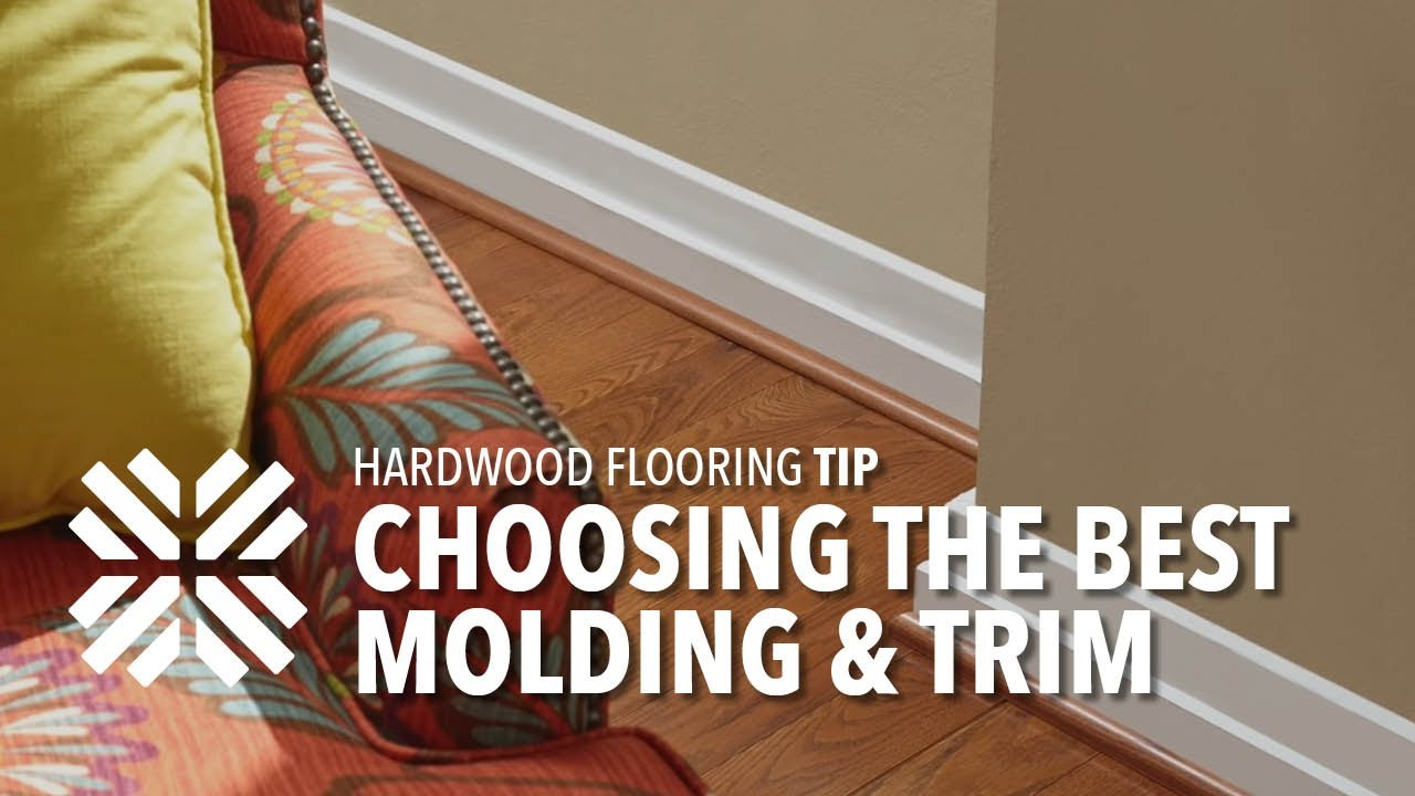 Selecting The Right Flooring Moldings Amp Trim Youtube