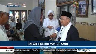 Cawapres Ma'ruf Amin Kunjungi Beberapa Pondok Pesantren Top Di Jawa Timur