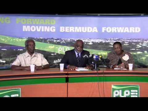 PLP Announce Candidate Neville Tyrrell Bermuda December 14 2011
