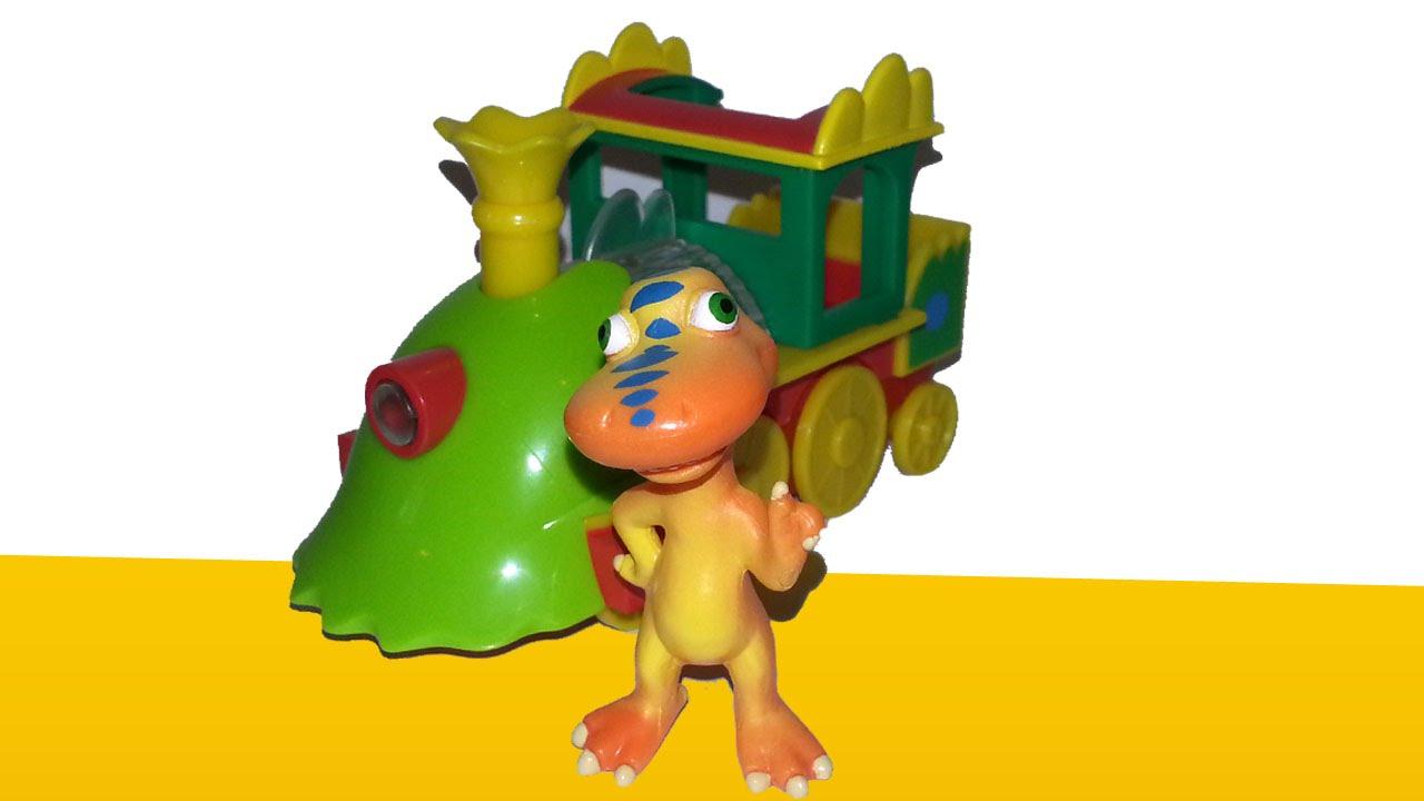 Мультфильм Поезд динозавров для малышей - геометрические ...