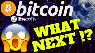 🔥 WHATS NEXT FOR BITCOIN !?!?🔥bitcoin litecoin price prediction, analysis, news, trading