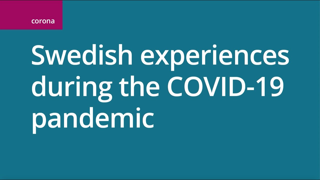 Official Information On The Covid 19 Pandemic Krisinformation Se
