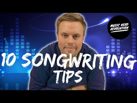 10 Songwriting Tips for beginners or Eleven Tips