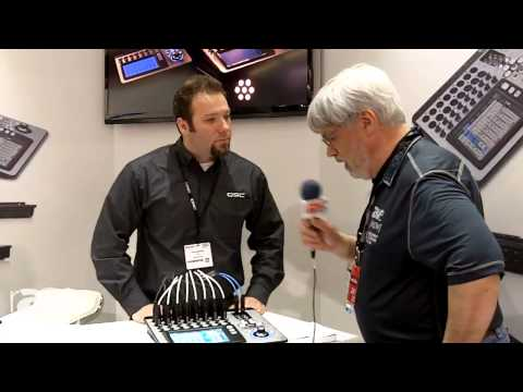 ISE 2014: Joel Rollins Loves QSC's New Compact Live Console Mixers