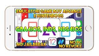 Emulatori Game Boy Advance e Nintendo DS (IOS 11.4.1) NO JAILBREAK / NO PC / NO REVOKE - App IOS