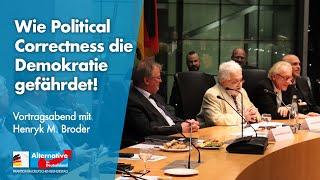 Henryk M. Broder zu Gast bei der AfD-Fraktion!