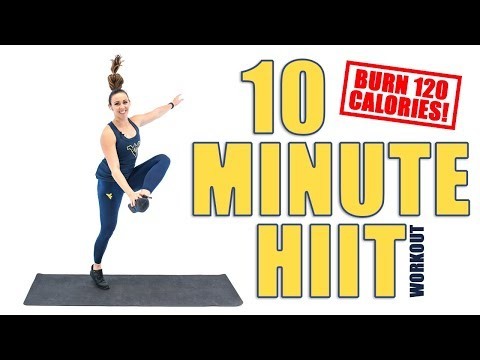 10 Minute 120 Calorie Burning HIIT Workout