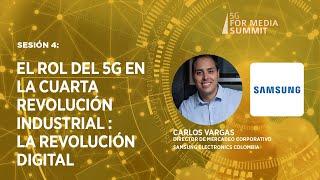Sesión 4: El rol del 5G en la cuarta revolución industrial que vivimos: la revolución digital.