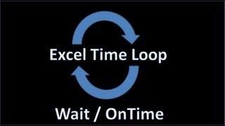 Excel VBA - Time loop