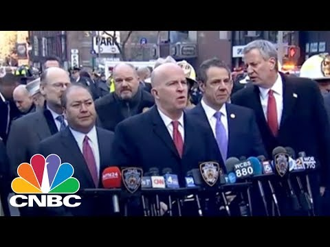 New York Gov. Cuomo Updates Press Following Times Square Explosion | CNBC