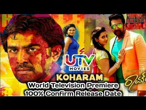 Koharam movie Hindi dubbed world TV premiere conform release date,