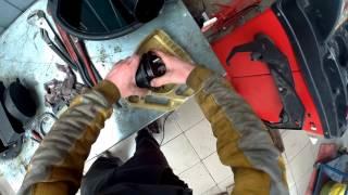 замена топливного фильтра Renaulth Doker