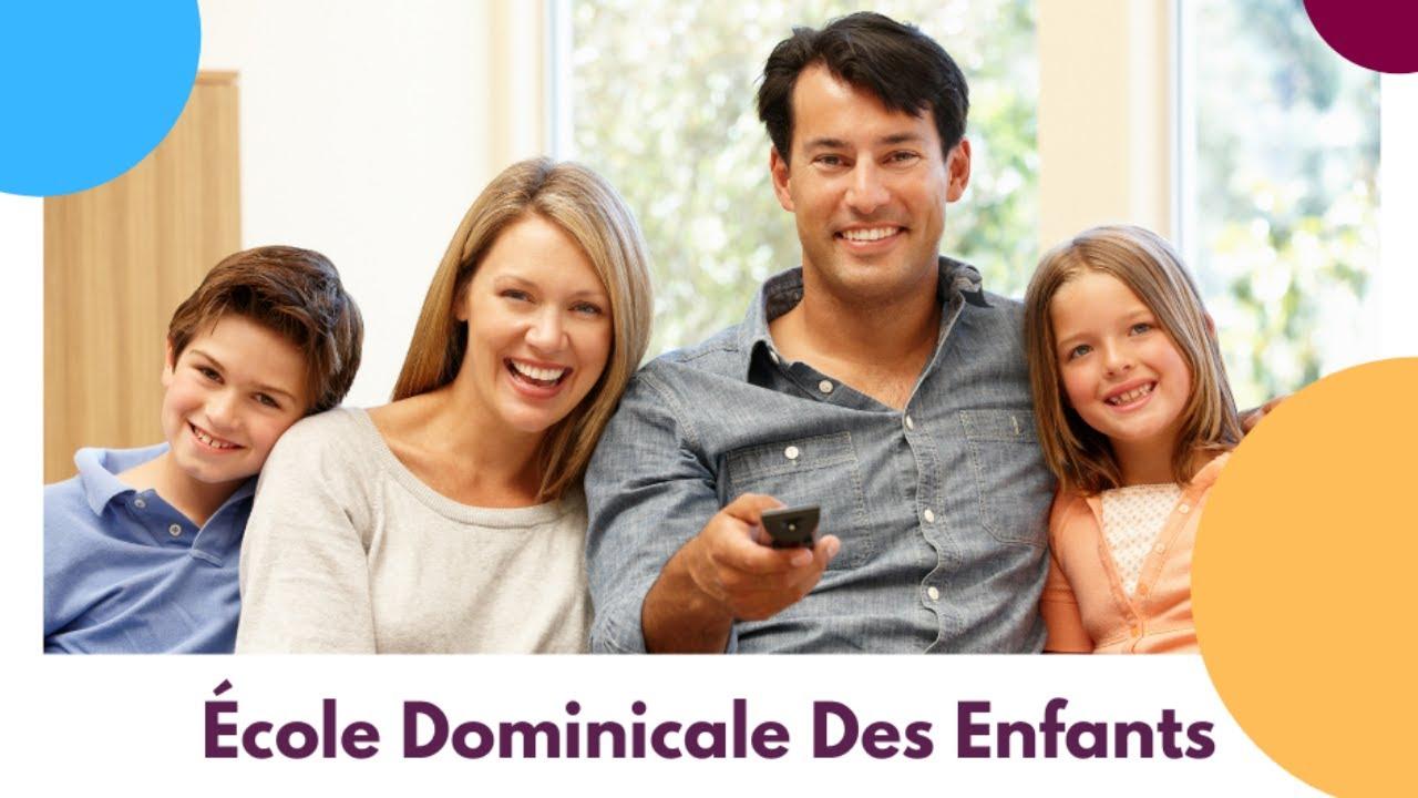 Ecole Dominicale Des Enfants [02 mai 2021]