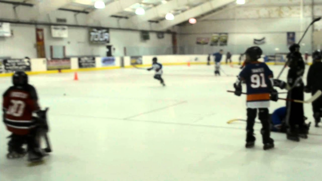 Roller Hockey Drills at Rapid Fire Arena - YouTube