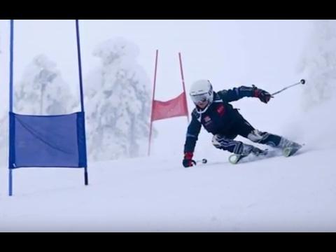 Alpine skiing - How to make pressure on the ski Vol1