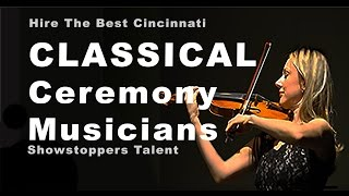 Music For Wedding Ceremony  |  OHIO   |  Showstoppers Talent