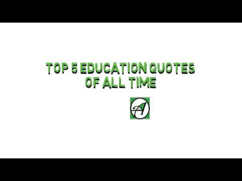 Top 5 Education quotes of All Time