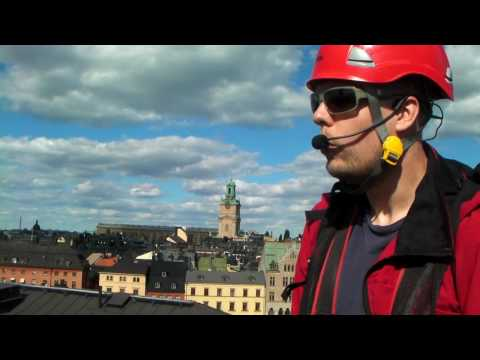 Roof top tour Stockholm 04062010
