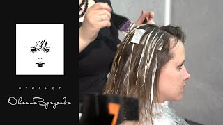 3D окрашивание волос.(3D окрашивание волос - три цвета в натуральной гамме. Цвета: Темно-коричневый, средне-русый, блонд. Модель..., 2015-01-24T14:00:05.000Z)
