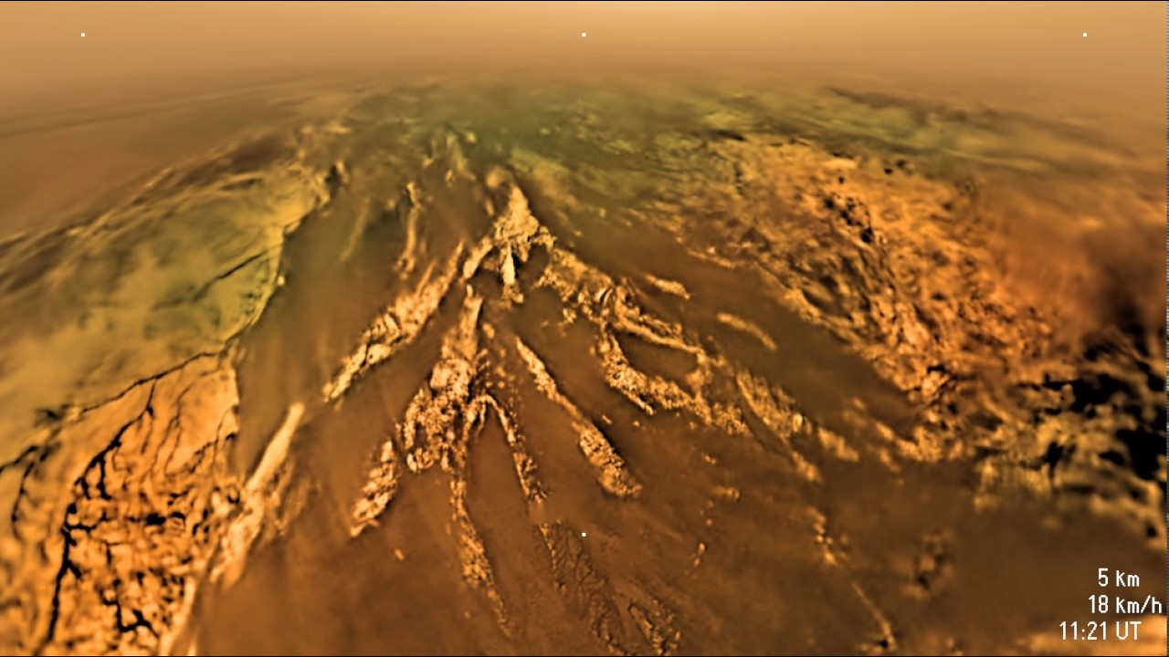 Image result for titan surface picture