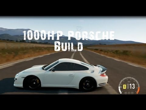 forza horizon 2 1000hp porsche build up top speed run youtube. Black Bedroom Furniture Sets. Home Design Ideas