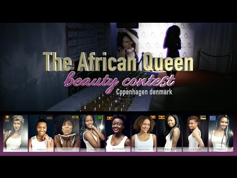 AFRICAN BEAUTY CONTEST 2015